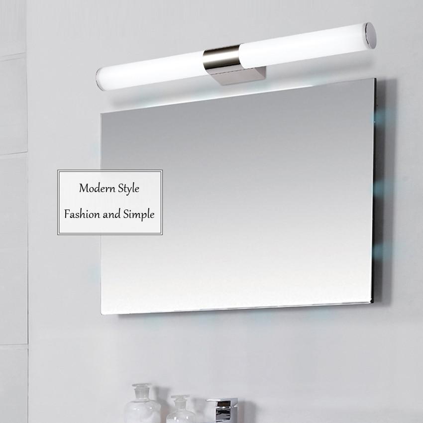 llevados modernos lmparas de pared dormitorio dresser vanidad bao espejo luz delantera espejo luz delantera