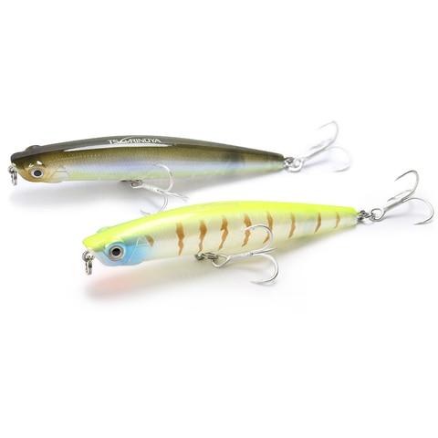 1 pcs tsurinoya dw66 98 milimetros 9 2g flutuante isca de pesca lapis isca top