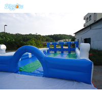High Quality Commercial Grade Inflatable Soccer Football Billiard For Carnival Game