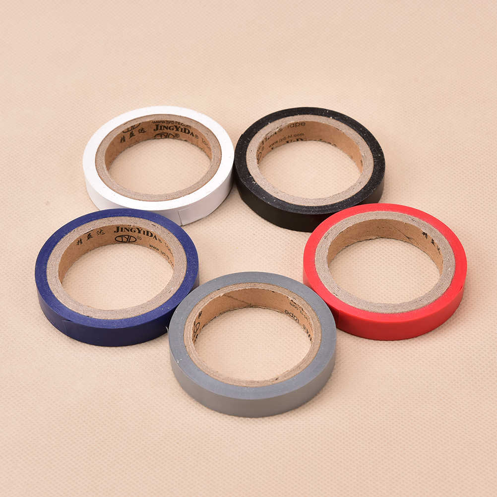8m*1cm Tapes Institution for Badminton Grip Sticker Tennis Squash Racket Grip Tape  Overgrip Compound Sealing