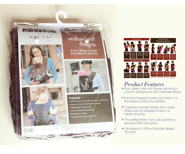 Caliente la venta 4 diseños Mei Tai porta bebé / patrón de diseño ...