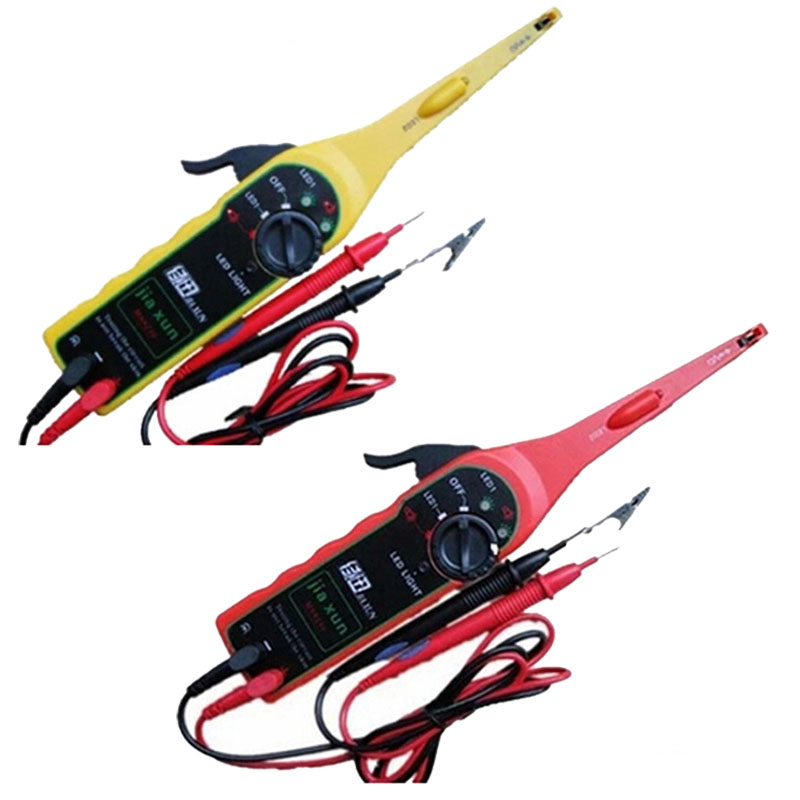 Auto Probador de Circuitos Línea Detector Electricidad/Test/Probar Las Luces Del Coche/Multímetro No Aparece La Pantalla de Herramientas de Automoción