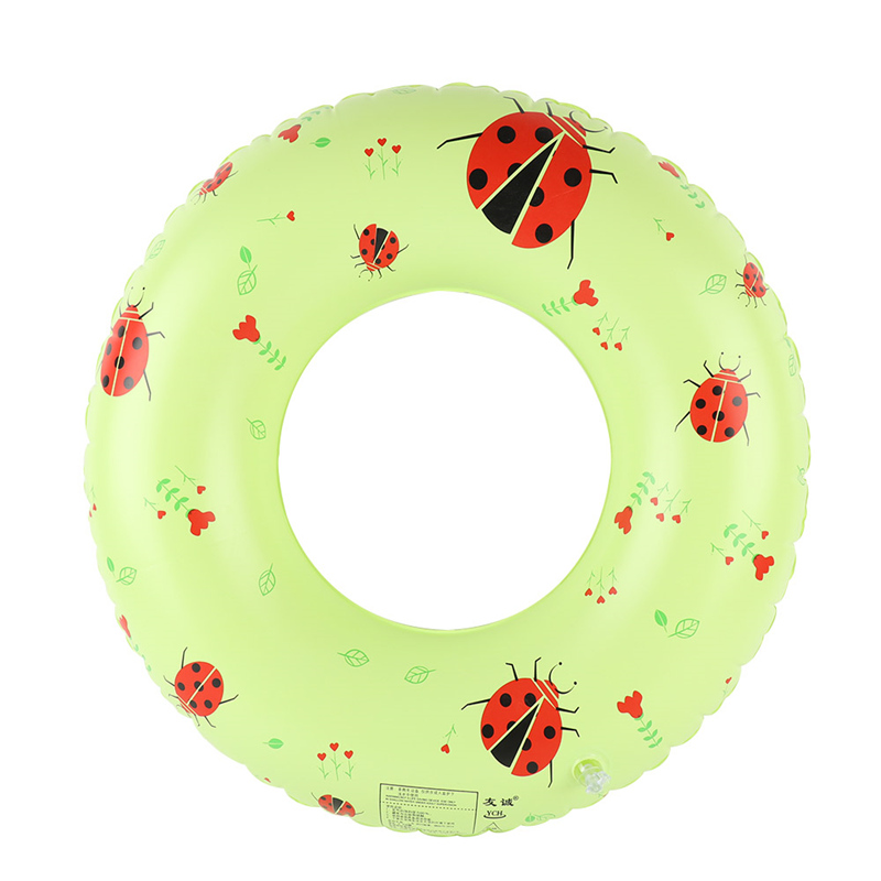 Inflatable Ladybug Pool Floats Tube Raft Swimming Ring For Adults Kids and Swimming Begi ...