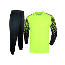 Adult Soccer Goalkeeper Uniform Men Jerseys Sets Football Doorkeepers long Shirt pants