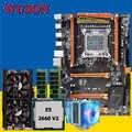 HUANAN deluxe X79 משחקי לוח האם מעבד RAM שילובי Xeon E5 2660 V2 עם מעבד למעבד רם 32G (2 * 16G) DDR3 RECC GTX760 4G DDR5