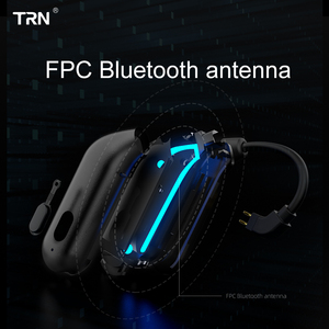 Image 5 - TRN BT20S APTX Bluetooth 5.0 Ear hook MMCX/2Pin Earphones Cable Bluetooth Adapter for VX BA5 IM2 X6 V30 V20 ZS10 F3 T2 S2 V90 M1