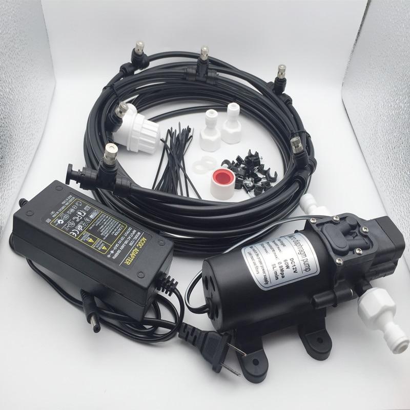 E131 (מים ממכל) 6 ערפל חרירי משאבת ערפל קירור מערכת עבור Aeroponice וחיצוני קירור ערפל דק-במרססים מתוך בית וגן באתר