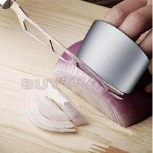Практичная Полезная из нержавеющей стали защитный нож ломтик Щит протектор для пальцев руки кухонный инструмент горячий