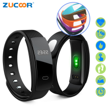 ZUCOOR Smart Bracelet Fitness Band Heart Rate RB31 Pulse Blood Pressure Tracker Watch Pedometer Pulsera Inteligente Tonometer