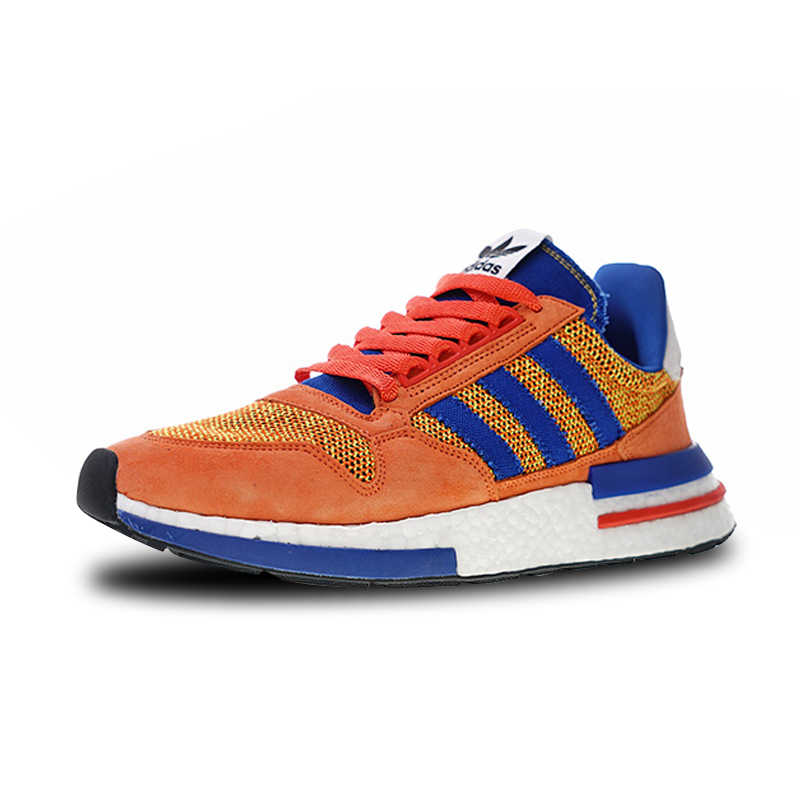2b6a55a0d ... Adidas ZX500 RM Boost Retro Running Shoes Orange Blue For Man And Women  Unisex D97046 36 ...