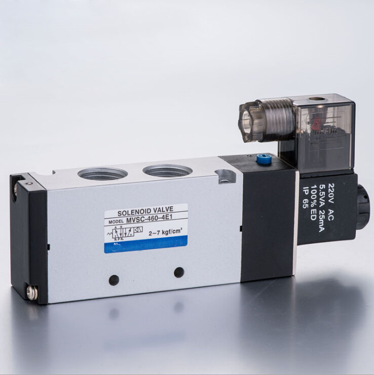 1/2 Mindman MVSC460 Series Solenoid Control Valve single solenoid valve with voltage DC24V,,AC110V,AC220V normally open single phase solid state relay ssr mgr 1 d48120 120a control dc ac 24 480v