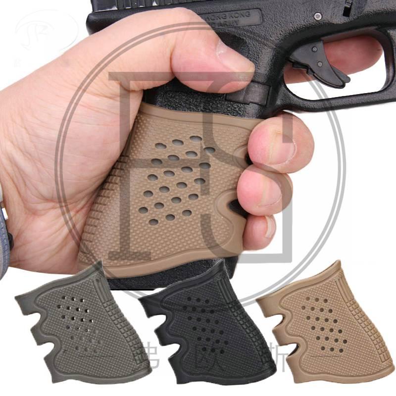 ⓪Nueva pistola caucho guante manga antideslizante mayoría Glock ...
