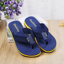 Trend of men's sandals anti-skid breathable thick soled slippers pinch pinch toe sandals