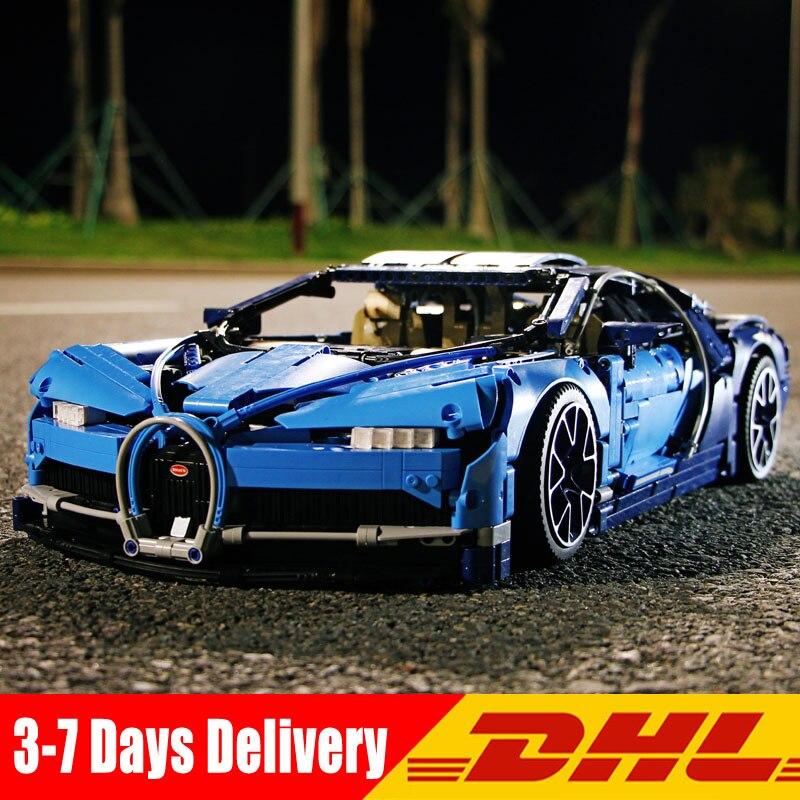 Лепин 20086 20086B 20086C 4031 шт. техника серии синий Хирон Супер гоночный автомобиль модели строительные блоки кирпичи Наборы игрушки для для мальчи...