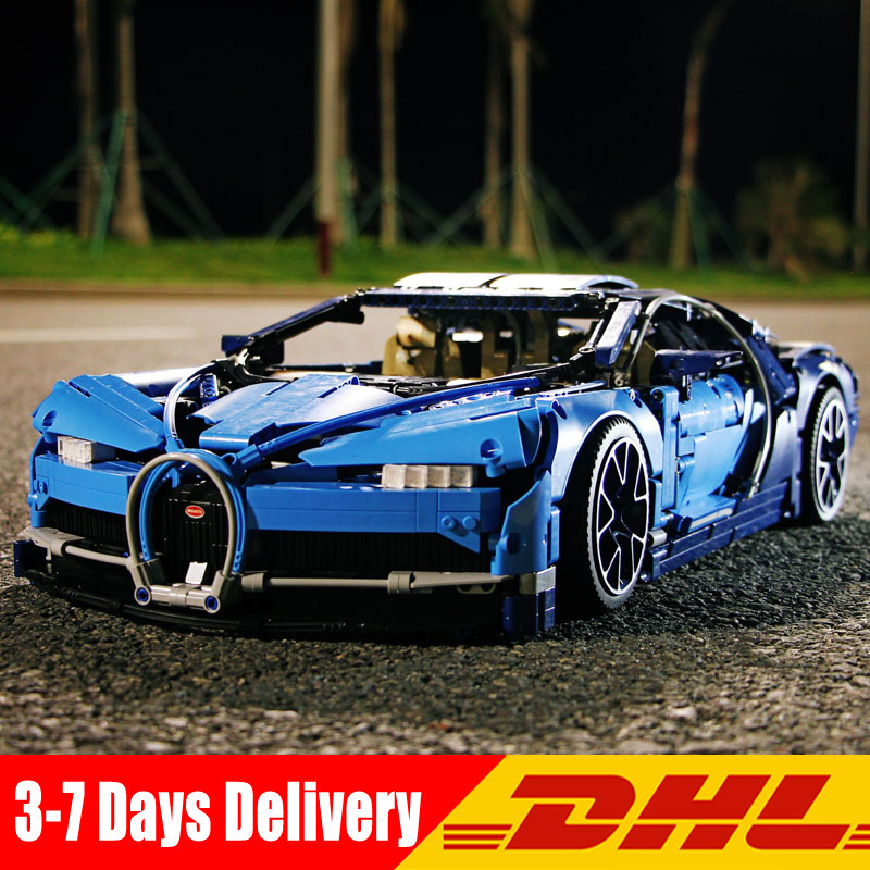 Lepin 20086 20086B 20086C 4031PCS Technic Series Blue Chiron Super Racing Car Model Building Blocks Bricks Kits Toys For Boys lepin bugatti 20086b technic figures chiron racing car sets compatible legoing 42083 model building kits blocks bricks boy toys