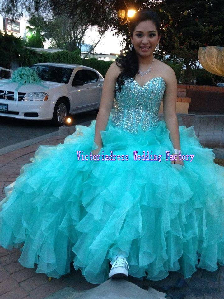 Popular Turquoise Sweet 16 Dresses-Buy Cheap Turquoise Sweet 16 ...