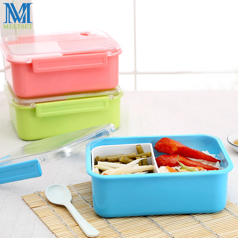 Microwavable Portion Control Lunch Box Online Plastic Food Container School Bento Boxes For Kids