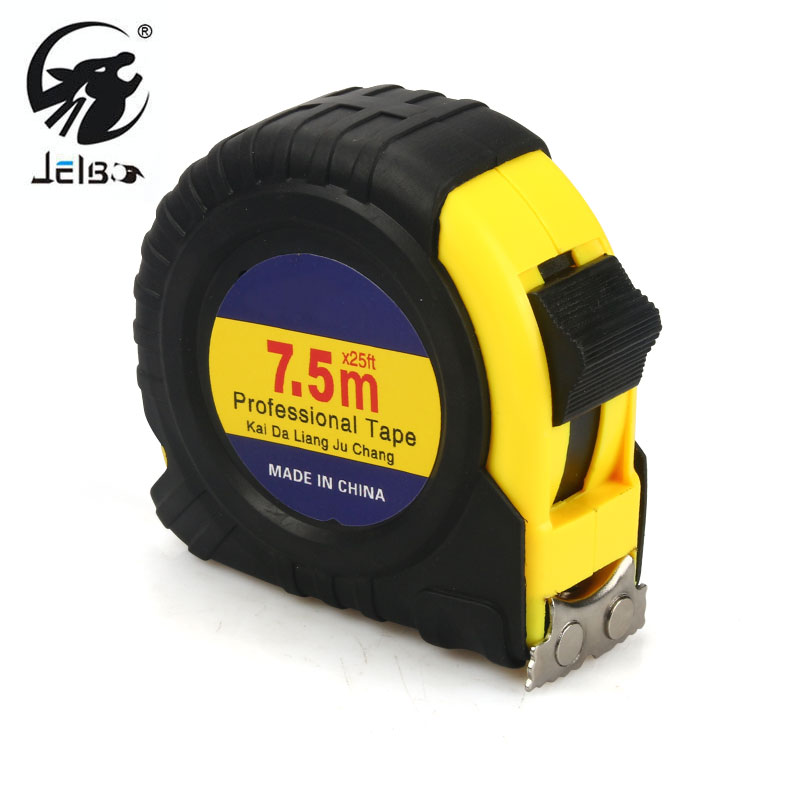 Jelbo 7 5m Tape Measure Metric Double Side Steel Measuring