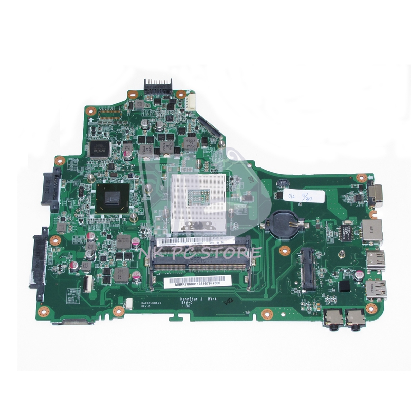 MBRR706001 MB.RR706.001 Main baord For Acer aspire 5349 5749 Laptop Motherboard DA0ZRLMB6D0 HM65 GMA HD3000 DDR3 mb rn60p 001 mbrn60p001 main board for acer aspire 7739 7739z laptop motherboard hm55 ddr3 gma hd