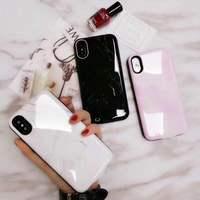 สำหรับiPhone Xแบตเตอรี่กรณีหินอ่อน6000มิลลิแอมป์ชั่วโมงชาร์จแบตเตอรี่ภายนอกแบบชาร์จไฟแบบพกพาป...