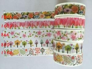 Image 4 - Cinta adhesiva jiataihe para impresión de colores, cinta adhesiva de arroz japonés, 45 unids/lote, 2291
