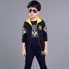 Three-piece Suit  autumn Boys Clothes Childrens For The Boy Sports