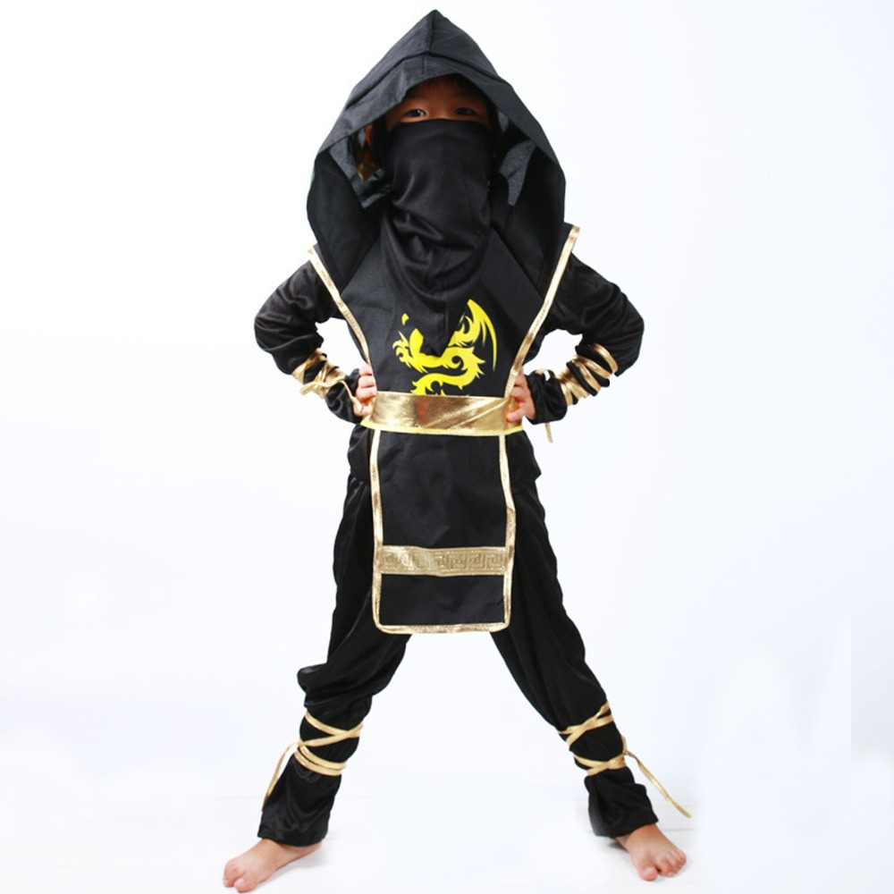 LMFC halloween kostüme für Kinder Ninja Party Jungen Mädchen - Kostüme
