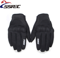 Motorcycle Touch Screen Gloves Guantes Motorbike 3D Breathable Net Full Finger Glove Off Road Locomotive Racing
