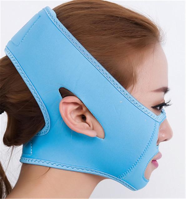 Rosto V Shaper Emagrecimento Relaxamento Máscara Facial 3D Rosto Levantar Cinto Reduzir Máscara Queixo Duplo Rosto Banda Thining