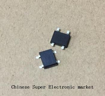 100 Uds ABS10 SOP-4 SMD pila de puente rectificador IC chip