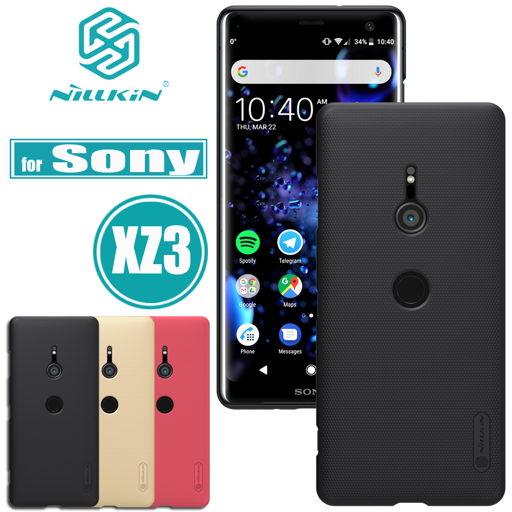 Nilkin for Sony Xperia XZ3 XZ2 Case Cover Nillkin Frosted Matte Hard Plastic Smart Phone Back Protective Cases for Sony XZ 3 2Nilkin for Sony Xperia XZ3 XZ2 Case Cover Nillkin Frosted Matte Hard Plastic Smart Phone Back Protective Cases for Sony XZ 3 2