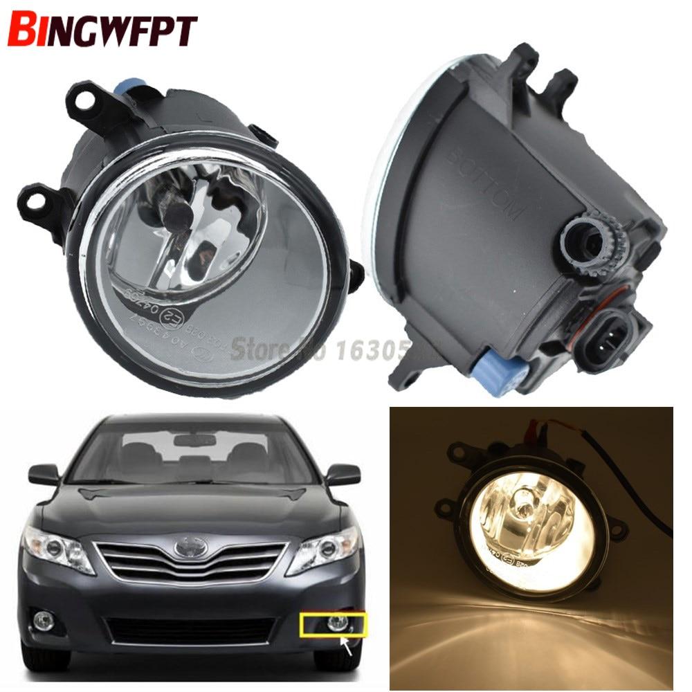2pcs/set (Left + Right) Car Styling High Quaity Halogen Lamps Fog Light For Toyota Camry XV40 2006-2011