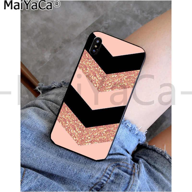 MaiYaCa الذهب الوردي الرخام الكولاج حورية البحر الذيل موضة العملاء جراب هاتف آيفون 11 برو 5Sx 6 7 7plus 8 8Plus X XS ماكس XR