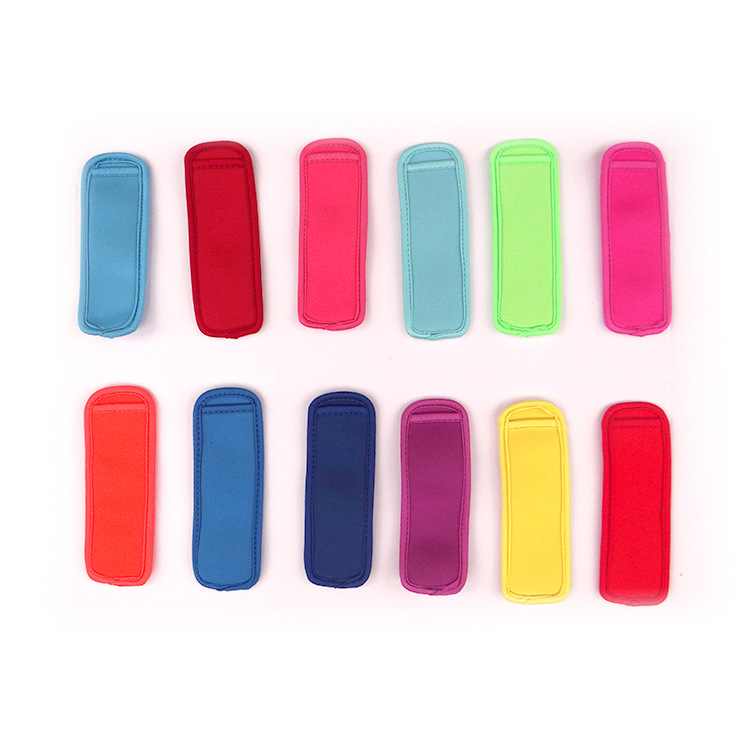 DHL 200pcs Popsicle Holders Pop Ice Sleeves Freezer Pop Holders 8x16cm for Kids Summer Kitchen Cookies