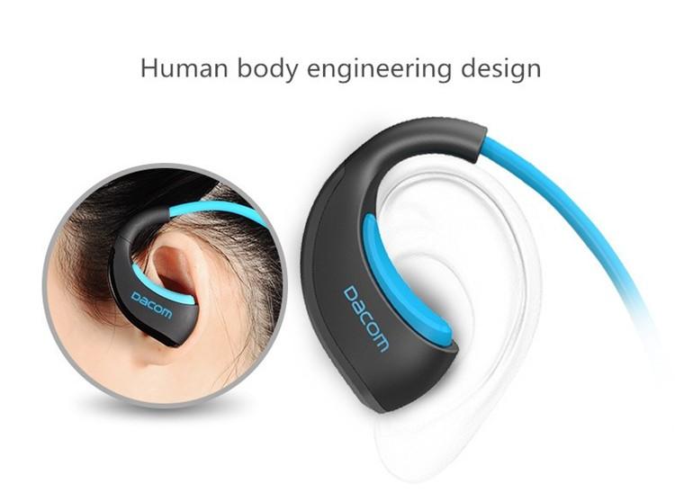 Dacom Armor Bluetooth V4.1 Stereo Headphones IPX5 Waterproof Wireless Outdoor Sports Headset Handsfree Music Earphone With Mic(13)