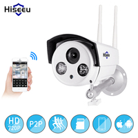 Hiseeu AHDH 1080P AHD CCTV Camera Analog Night Vision High Definition Surveillance Camera Security Outdoor Plug