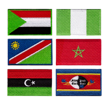 Free shipping national flag countries Badge Multi-designs badges flags for clothing custom badge Suitable all kinds of cloth
