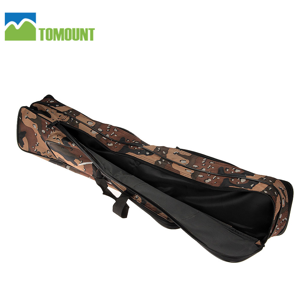 Tomount rod fishing bag 80cm 3 layer case portable fishing for Fishing rod case