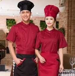 Короткий рукав китайский шеф повар Форма Кухня Шеф повара Костюмы Одежда для шеф-поваров отель униформа форма офицантки Торт Одежда