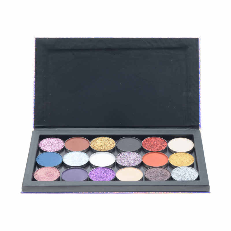 Fish-Scale Empty Magnetic Palette Eyeshadow Blusher Lipstick Lip Gloss Powder Fundation DIY Refill Palette dropship support