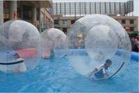 For Children 1.3M PVC Inflatable Water Walking Ball Transparent Dance Ball