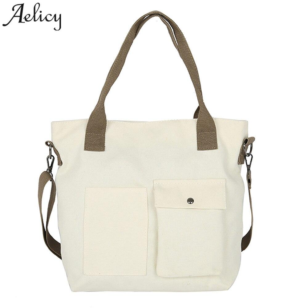 5efc0fbef3d Aelicy bolso de las mujeres de gran capacidad bolso Simple niñas bandolera  bolsa femenina bolsos mujer caliente de 2019
