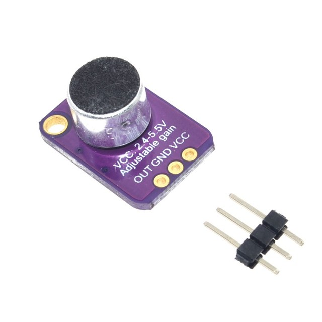 Image result for arduino microphone amplifier