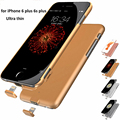 Real 2000 mAh Ultra-Thin Battery Charger Cover for iPhone 6 Plus Rechargeable Power Case External Backup with Plug
