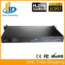 1U Rack HD 1080 p 1080i 2 Em 1 2 Canais Codificador De Vídeo HDMI IPTV Encoder RTMP Codificador de Streaming Ao Vivo hardware Para HDMI H.264 H264