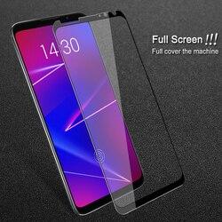 Dla Meizu 16x szkło hartowane pełna ochrona ekranu IMAK ochronne szkło hartowane na ekran pełna ochrona folia na Meizu 16x6.0''