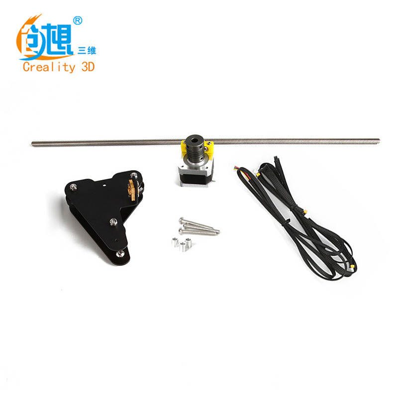 Dual Z Upgrade Kits for Creality CR-10 300mm CR-10 S4 400mm 3D Printer Upgraded Z-axis Dual screw accessories For Creality 3D