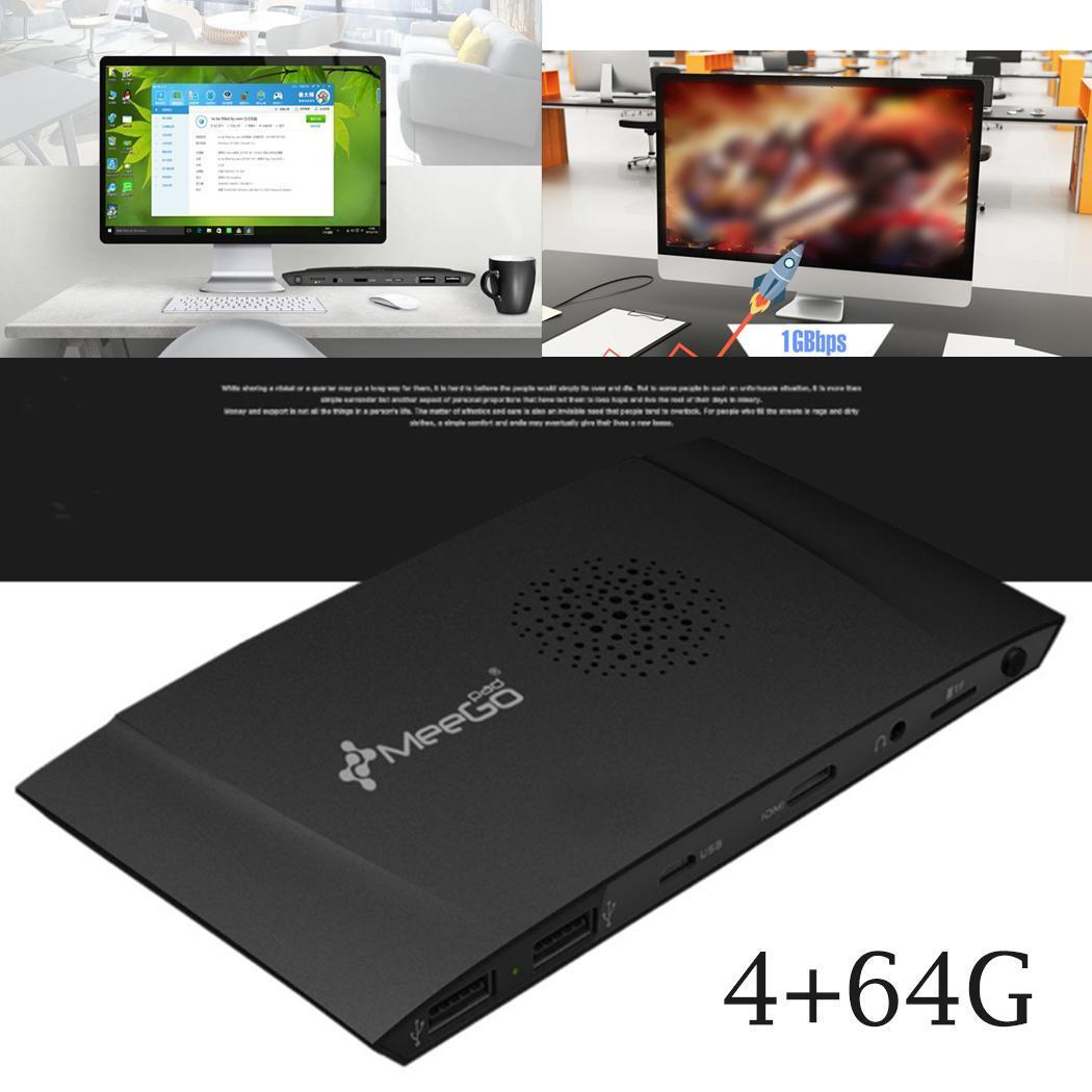 Boîtier PC Quad Core sous licence Windows 10 bâton de calcul 4 + 64G