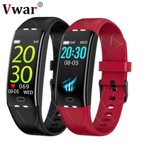 Vwar R21 IP68 Waterproof Women Smart Bracelet 24 Hour Heart Rate Monitor Female Men Sports Wirst Band Fit Bit Fitness Tracker