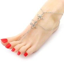 Brand Tassel Anklet 2016 New Chinese knot Ankle Bracelet Pulseras Anklets For Women Summer font b
